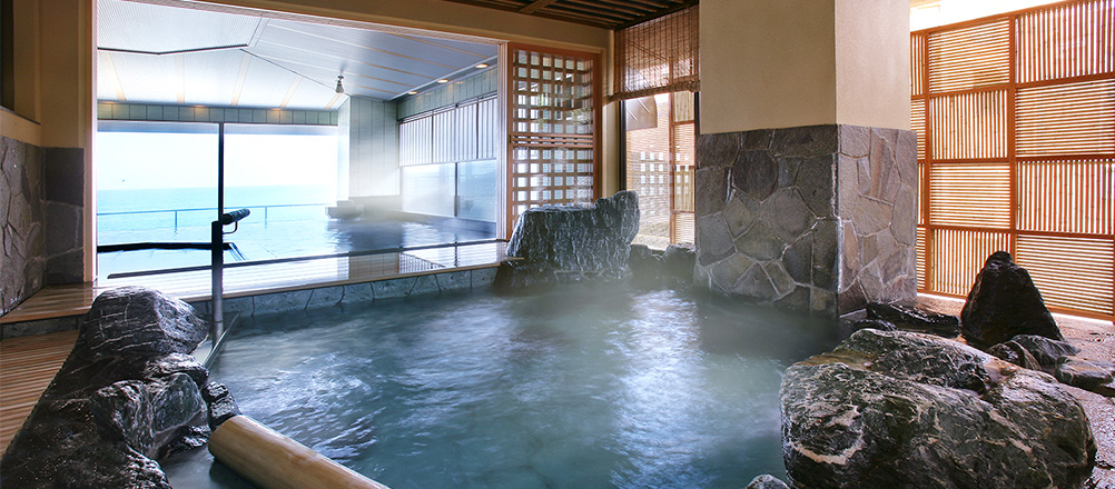 露天岩風呂