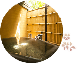 露天風呂付き客室イメージ